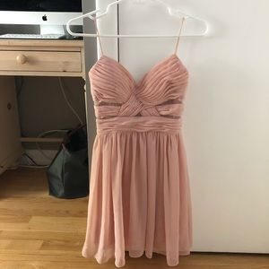 Hailey Logan by Adrianna Papell Chiffon Dress